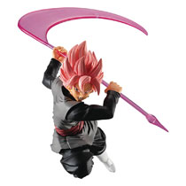 Image: Dragon Ball Styling Super Saiyan Figure: Rose Goku Black Rose  - Bandai Shokugan