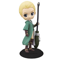 Image: Harry Potter Quidditch Q-Posket Figure: Draco Malfoy V2  - Banpresto