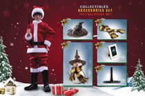 Image: Harry Potter Sorcerer's Stone Accessory Pack: X-Mas  (Boy version) (1/6 scale) - Star Ace Toys Limited