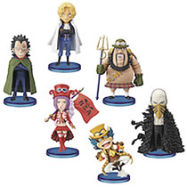 Image: One Piece World Revolutionary Army Coll 6-Piece Blind Mystery Box Figure Assortment  - Banpresto