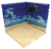 Image: Dioramansion 150 Figure Diorama: Beach  - Plm