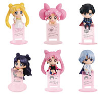 Image: Sailor Moon Ochatomo Night & Day Mini Figure 8-Piece Blind Mystery Box Display  - Megahouse Corporation