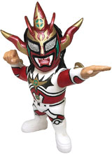 Image: 16D Collectible New Japan Pro Wrestling Vinyl Figure: Jyushin Thunder  - 16 Directions Inc.