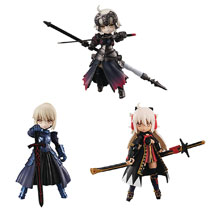 Image: Desktop Army Fate Grand Order No 4 3-Piece Display  - Megahouse Corporation