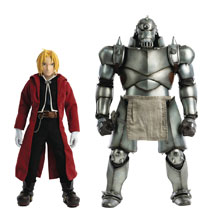Image: FMA Brotherhood Figure Twin Pack: Edward & Alphonse  (1/6 scale) - Three A Trading Company Ltd