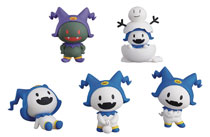 Image: Atlus Hee-Ho Jack Frost Collectible Mini-Figure 6-Piece Blind Mystery Box Display  - Max Factory