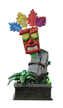 Image: Crash Bandicoot Resin Statue: Mini Aku Aku Mask  - First 4 Figures