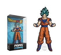 Image: Figpin Mini Dragonball Pin: Super SSGSS Goku  - Cmd Collectibles