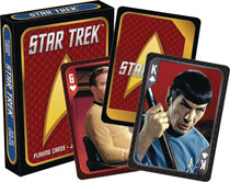 Image: Star Trek Playing Cards: Cast  - Nmr Distribution America
