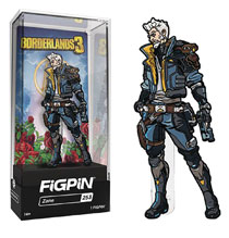 Image: Borderlands 3 Figpin Pin: Zane  - Cmd Collectibles