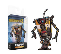 Image: Borderlands 3 Figpin Mini Pin: Claptrap  - Cmd Collectibles