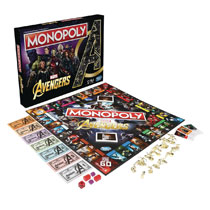 Image: Monopoly Avengers Edition Game Case  - Hasbro Toy Group