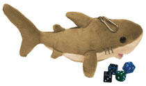 Image: 9-Inch Shark Gamer Dice Pouch  - Ultra Pro International