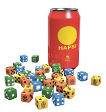 Image: Giant Killer Robots Hapsi Can & Faction Dice Original Flavor  - Weta Workshop Ltd