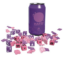 Image: Giant Killer Robots Hapsi Can & Faction Dice Purple Flavor  - Weta Workshop Ltd