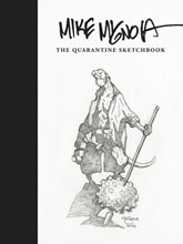 Image: Mike Mignola Quarantine Sketchbook HC  - Dark Horse Comics