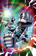 Image: Transformers / Back to the Future #4 (cover A - Juan Samu) - IDW Publishing