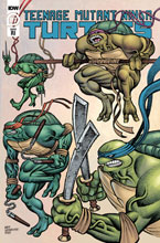 Image: Teenage Mutant Ninja Turtles #113 (incentive 1:10 cover - Lesniewski) - IDW Publishing