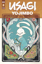 Image: Usagi Yojimbo: Wanderer's Road #3 (main cover - Peach Momoko) - IDW Publishing