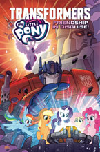 Image: My Little Pony / Transformers: Friendship in Disguise SC  - IDW Publishing