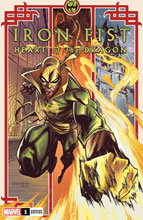 Image: Iron Fist: Heart of the Dragon #1 (incentive 1:25 cover - Randolph)  [2021] - Marvel Comics