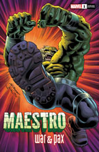 Image: Maestro: War and Pax #1 (incentive 1:25 cover - Bennett) - Marvel Comics