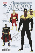 Image: Avengers #41 (incentive 1:10 Design cover - Garron) - Marvel Comics