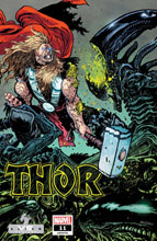 Image: Thor #11 (variant Marvel vs. Alien cover - Daniel Warren Johnson) - Marvel Comics