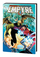 Image: Empyre Omnibus HC  (variant DM Hulkling Wiccan cover - Cheung) - Marvel Comics