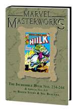 Image: Marvel Masterworks: Incredible Hulk Vol. 15 HC  (variant DM cover - Bob Layton) (306) - Marvel Comics
