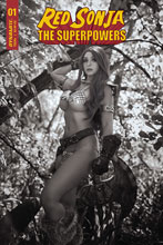 Image: Red Sonja: The Superpowers #1 (incentive 1:25 cover - Cosplay B&W) - Dynamite