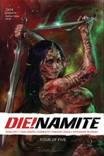 Image: Die!namite #4 (cover A - Parrillo) - Dynamite