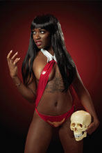 Image: Vampirella #18 (incentive 1:25 cover - Roll Cosplay virgin) - Dynamite