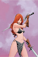 Image: Red Sonja #23 (variant cover - Lee virgin) - Dynamite