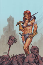 Image: Red Sonja #23 (variant cover - Linsner virgin) - Dynamite