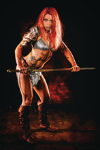Image: Red Sonja: Price of Blood #2 (incentive 1:20 cover - Cosplay virgin) - Dynamite