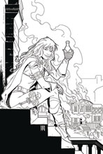 Image: Red Sonja: Price of Blood #2 (incentive 1:25 cover - Geovani B&W virgin) - Dynamite
