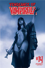 Image: Vengeance of Vampirella Vol. 02 #14 (incentive 1:40 cover - Oliver tinted) - Dynamite