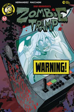 Image: Zombie Tramp #78 (cover B - MacCagni risque) - Action Lab - Danger Zone
