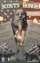 Image: Scouts Honor #1 (main cover - Andy Clarke) - Aftershock Comics
