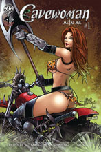Image: Cavewoman: Metal Age #1 (cover A - Mangum) - Amryl Entertainment