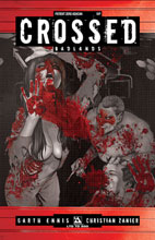 Image: Crossed: Patient Zero  (variant Ashcan VIP cover - Christian Zanier) - Avatar Press Inc
