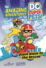 Image: DC Super Pets Young Readers: Robin Robin to the Rescue SC  - Capstone - Picture Window Book