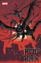 Image: King in Black #1 (variant Darkness Reigns cover) (DFE signed - Stegman) - Dynamic Forces