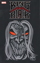 Image: King in Black #1 (variant Black Blank cover - Haeser sketch) - Dynamic Forces
