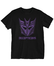 Image: Transformers T-Shirt: Enslave and Destroy  (S) - Goodie Two Sleeves