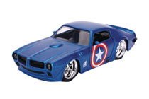 Image: Marvel Vehicle: Captain America 1972 Pontiac Firebird  (1/32 scale) - Jada Toys, Inc