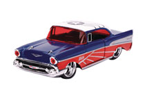 Image: Marvel Vehicle: Falcon 1957 Chevy Bel Air  (1/32 scale) - Jada Toys, Inc