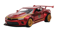 Image: Marvel Vehicle: Iron Man 2016 Chevy Camaro SS  (1/32 scale) - Jada Toys, Inc