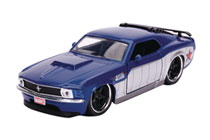 Image: Marvel Vehicle: Winter Soldier 1970 Ford Mustang Boss  (1/32 scale) - Jada Toys, Inc